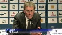 """Laurent Blanc (PSG): """"pas grave de ne pas être le 1er choix"""""""