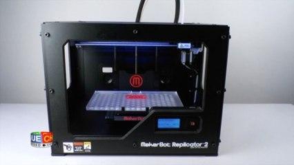 Imprimante 3D Replicator 2 - Test