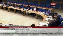 Audition, Audition sur le projet de loi sur la transparence par la Commission des lois