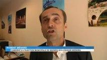 Béziers : Robert Ménard, candidat aux municipales 2014, attaque le député UMP Elie Aboud