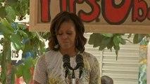Michelle Obama pays tribute to Nelson Mandela