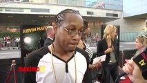 """DJ Quick Interview at KEVIN HART """"Let Me Explain"""" Movie Premiere Red Carpet in Los Angeles"""