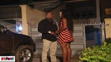 Femi Adebayo Proposes to Queen Nwokoye With A Slap!