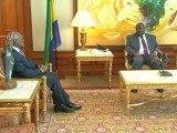 Sécurité maritime : le Président gabonais Ali Bongo Ondimba reçoit M. Miguel Trovoada