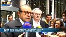 """Hervé Temime: la mise en examen de Tapie """"est le fruit d'une escroquerie"""" - 29/06"""