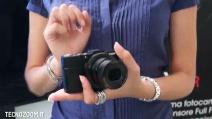 Sony RX100 II anteprima della nuova fotocamera