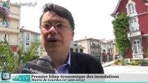 [LOURDES] Les conséquences économiques des inondations (27 juin 2013)