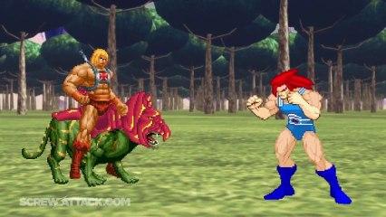 He-Man Vs. Lion-O - Death Battle!