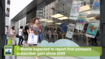 Smartphone News Byte: T-Mobile Expected to Report First Postpaid Subscriber Gain Since 2009