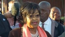 Mandela ex-wife cautions media