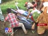 Tv9 Gujarat - Junagadh : Farmers stir against Jetpur-Somnath highway