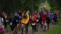 Cross du Mont-Blanc- Passage aux bois et arrivées - Chamonix Marathon et Cross du Mont-Blanc