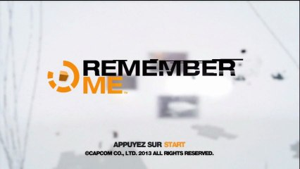 Remember Me Test / Gameplay