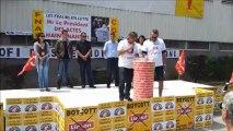 Carrefour des luttes à FRALIB, 28 Juin à Gémenos, Vidéo 2