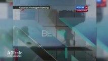 Explosion en vol d'une fusée russe lors de son lancement