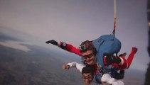 Mon 1er saut de parachute en tandem.. 4000m d'altitude, chute libre de plus de 230Km/h à Beni Mellal- Maroc