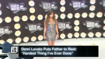 "Demi Lovato News Pop: Demi Lovato Puts Father to Rest: ""Hardest Thing I've Ever Done"""