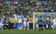 Uruguay 2-2 Italia (Gol de Cavani) COPA CONFEDERACIONES