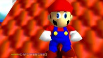 Super Mario 64 Bloopers - Derpy Mario stares at you for 18 seconds