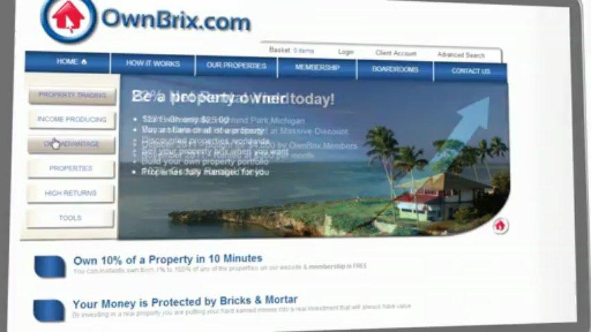 OwnBrix Property Trading Platform