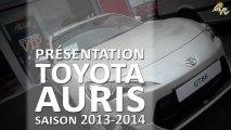 Présentation de la nouvelle voiture OLB pour 2013-2014