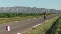 Les Côtes de Provence Sainte-Victoire (en moto!) avec le Château Grand Boise. Un Verre de Terroir en Provence