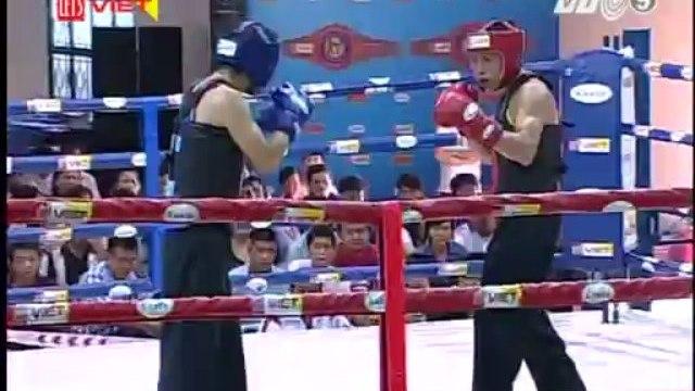 Giải võ cổ truyền - Trận 6: Võ sĩ Hoàng Minh Anh (TPHCM) - Huỳnh Đức Hùng (Khánh Hòa)