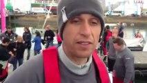 Tour de France à la Voile - Breskens : Interview de Maxime Paul