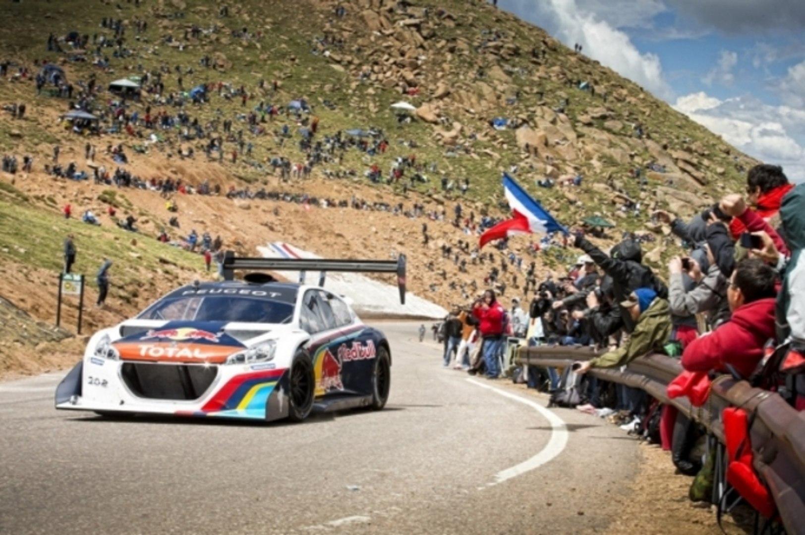 Pikes Peak 2013 : record de Loeb en Peugeot 208 T16