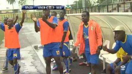Résumé USCB - SCG 0-2 (Ligue1 CIV J25)