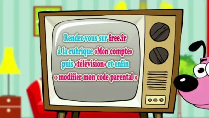 Définir votre code parental Freebox TV