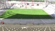 Visite du chantier du Stade Vélodrome