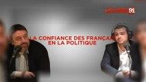 """Débat Michel Pouzol (PS) et Mickael Migueres (UMP) autour du thème """"la confiance des français envers la politique"""""""