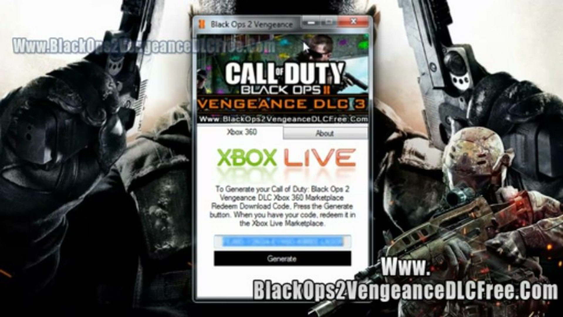 call of duty black ops 2 free dlc codes
