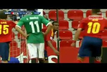Suso Corner that led to Spain Equaliser vs Mexico U20