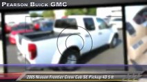 2005 Nissan Frontier Crew Cab SE 5 ft - Pearson Buick GMC, Sunnyvale