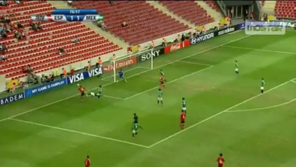 Suso Trick Pass vs Mexico U20