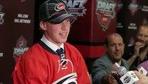NHL draft No. 5 pick Elias Lindholm