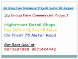 !!@8826866550/1/2@!! SS group new projects sector 86 gurgoan