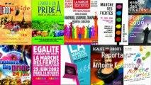 Slogans et affiches des gay prides
