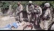 Des Marines américains urinent sur des cadavres de présumés talibans ?
