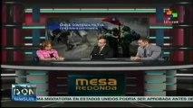 Chile: Contienda Política, Protesta Estudiantíl Mesa Redonda Internacional