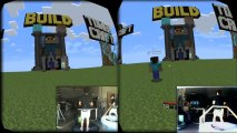Virtuix Omni + Oculus Rift - Minecraft Multiplayer Gameplay