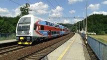 Jednotka 471 032-3/971 032-8 a 471 042-2/971 042-7 - Hoštejn, 2.7.2013 HD
