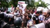 Mısır'da Müslüman Kardeşler liderlerine göz altı