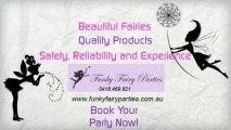 Funky Fairy Parties - Birthday Parties, Fairies, Mermaids