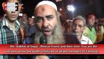 """Des Pro Morsi menacent les Coptes """"Vous vivez à coté de nous, nous allons vous brûler !"""""""
