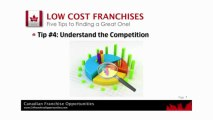 Low Cost Franchises - finding Low cost Franchises