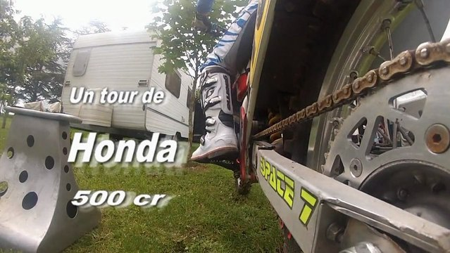 Un tour de HONDA 500 cr