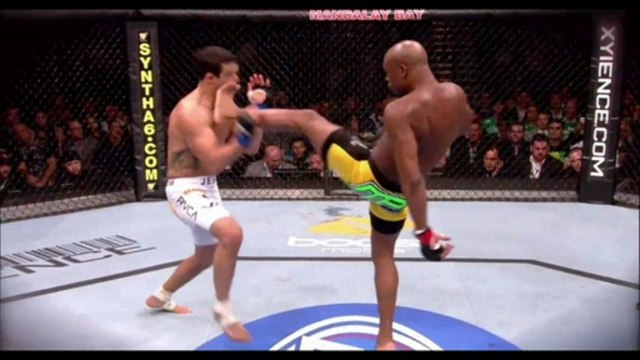 MMA 162 Anderson Silva vs. Chris Weidman Highlights 06.07.2013